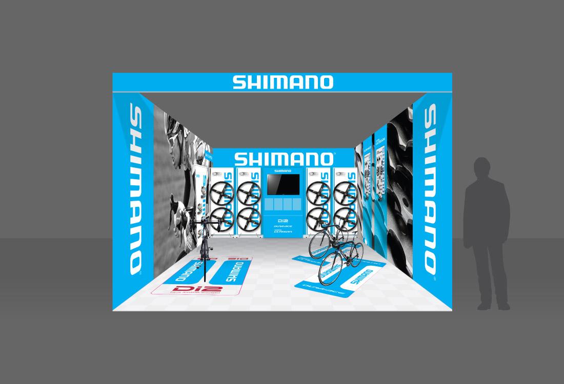 SHIMANO TDU 2011 BOOTH