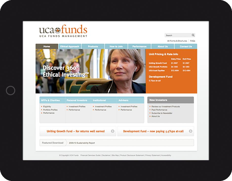 UCA WEB DESIGN BRAND