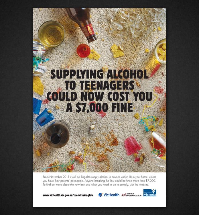 VicHealth alcohol campaign